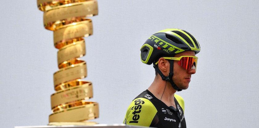 Alex Dowsett wygrał ósmy etap Giro d'Italia. Simon Yates wycofany z wyścigu