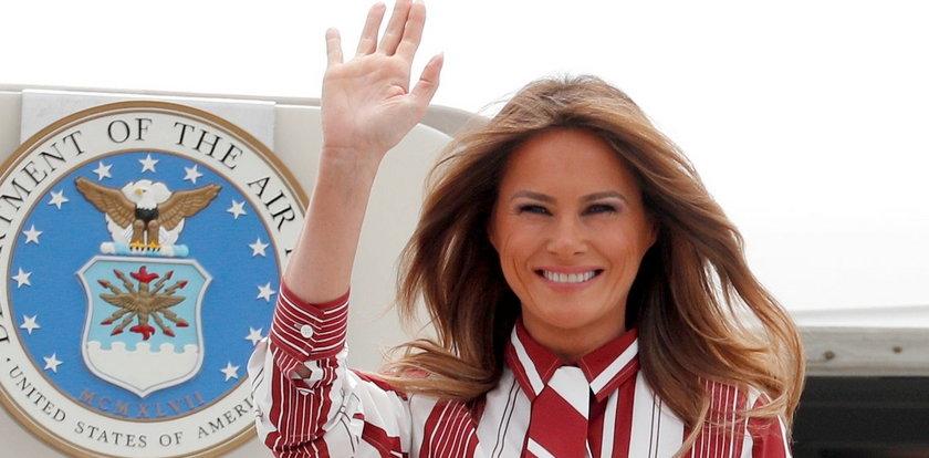 Melania Trump żegna się z Białym Domem. Zobacz nagranie z jej pożegnalnym przesłaniem