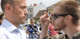 Awantura w Nowym Targu. Budka zaatakowany