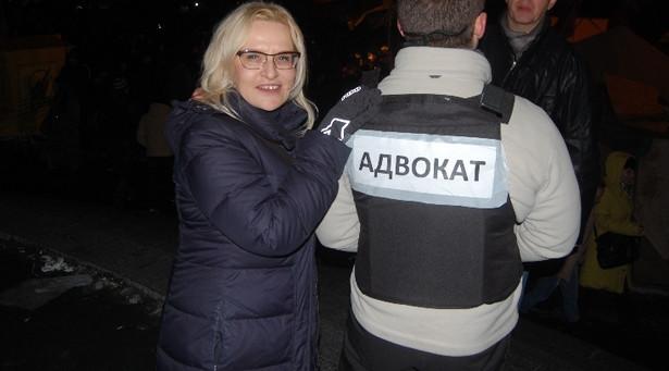 Justyna Mazur - zdjęcie z Kijowa.
