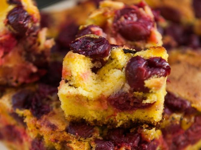 Sočan kolač sa trešnjama