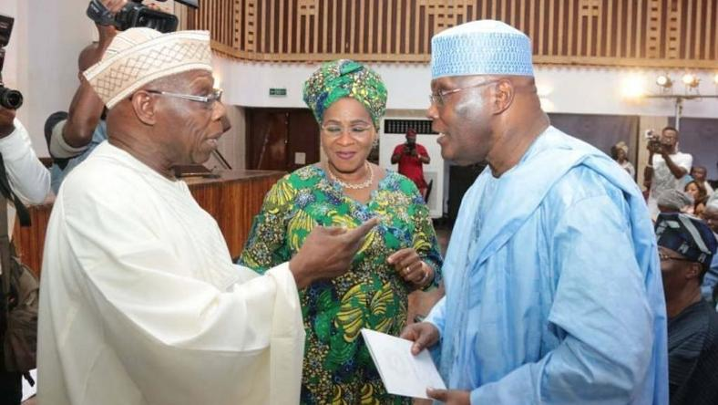APC says Obasanjo is  lobbying America authorities to withdraw Atiku's entry ban