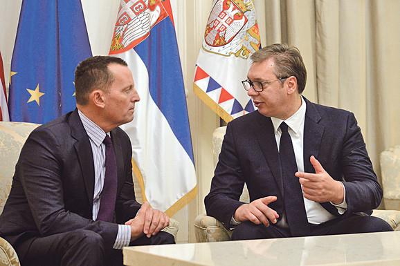 Vučić u razgovoru sa Ričardom Grenelom