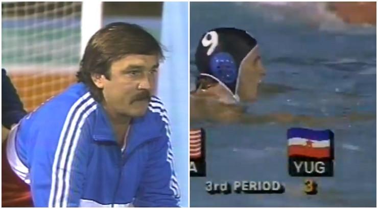 Vaterpolisti Jugoslavije na Olimpijskim igrama 1984.