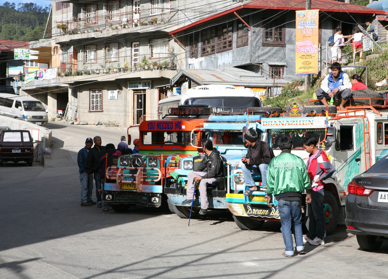 Jeepneys, Banaue, fot. Robert Pawełek, TravelCompass