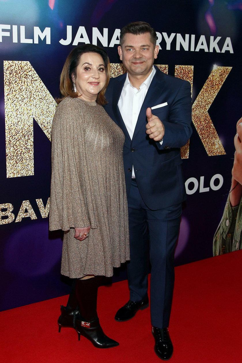 Danuta Martyniuk z mężem
