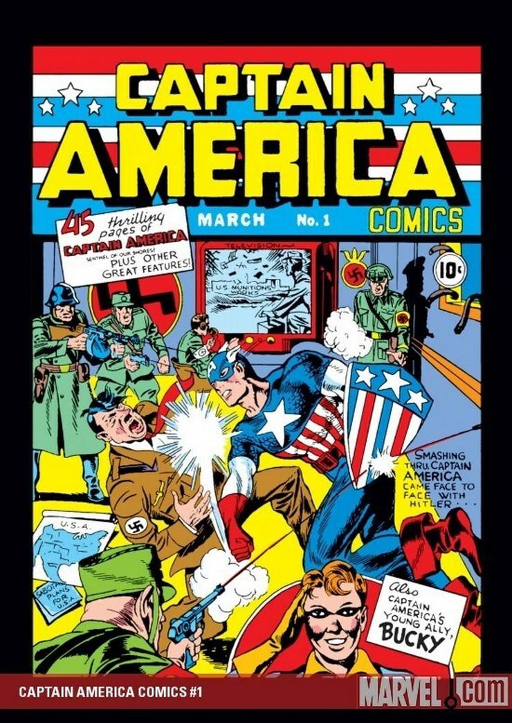 strip 10 foto Promo Marvel comics