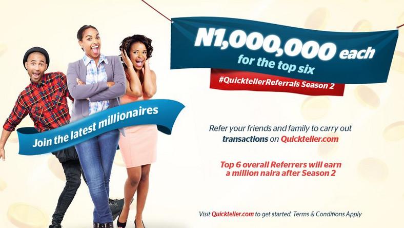 Quickteller Join the latest millionaires on Quickteller