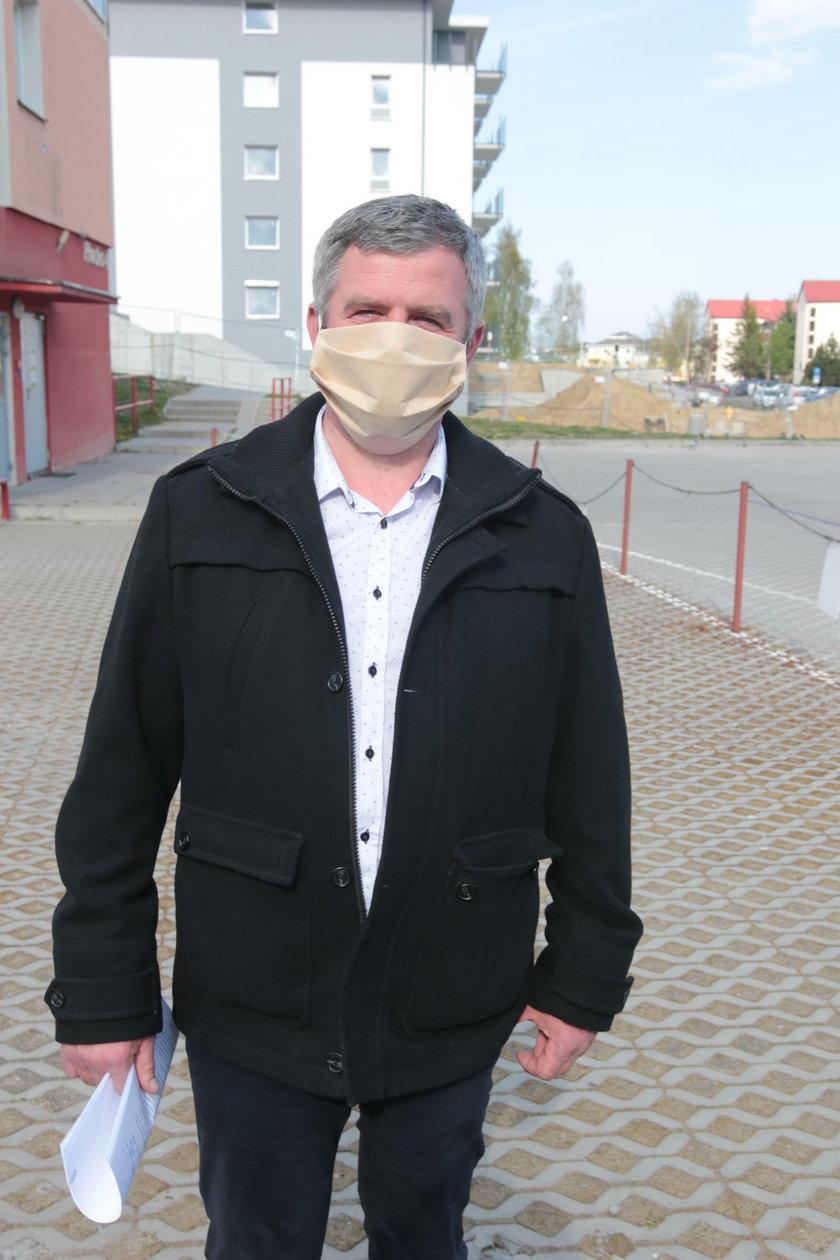 """Michał Zając - członek nowego zarządu SM """"Ujeścisko""""."""