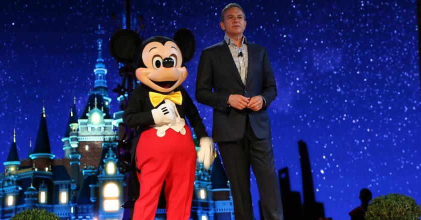 Disney zawiódł analityków wynikami za IV kwartał 2017. Na zdjęciu CEO spółki Bob Iger