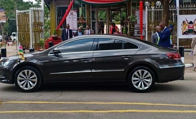 VW Passat used by CS Henry Rotich during budget reading 2019. Interior PS Karanja Kibicho has ordered all State agencies to buy locally assembled cars