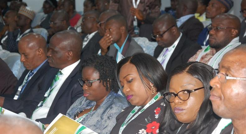 Audience at the 2019 tax conference of the Chartered Institute of Taxation of Nigeria (CITN) (Twitter/CITN events)