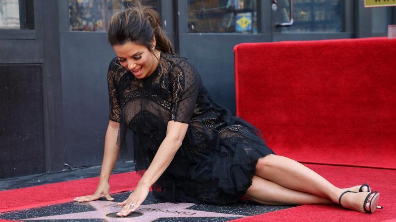 epa06673837 - USA HOLLYWOOD WALK OF FAME (Eva Longoria gets Hollywood Walk of Fame star)