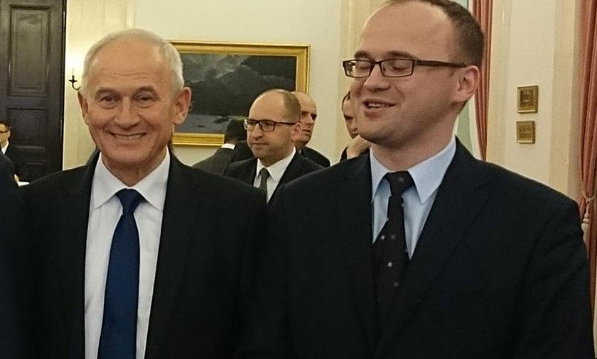 Krzysztof Tchórzewski, minister energetyki i jego syn Mateusz