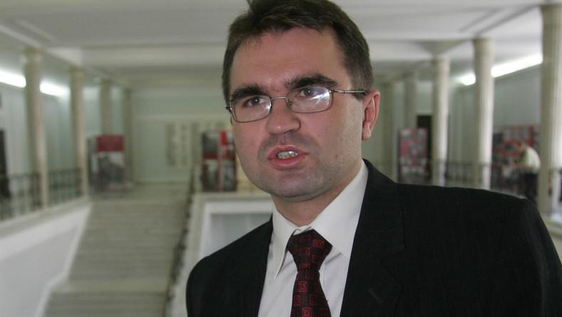 Poseł PiS Zbigniew Girzyński atakuje ministra finansów
