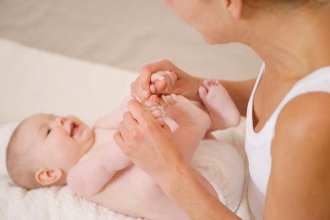 Ako se pojavi pelenski osip, kožu mažite kremom na bazi cink oksida.