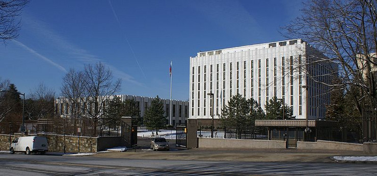 ruska ambasada vašington