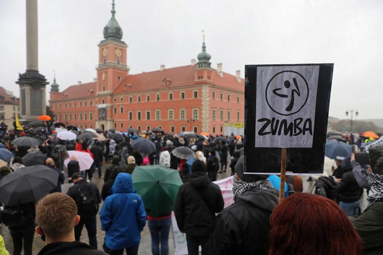 protest branży fitness