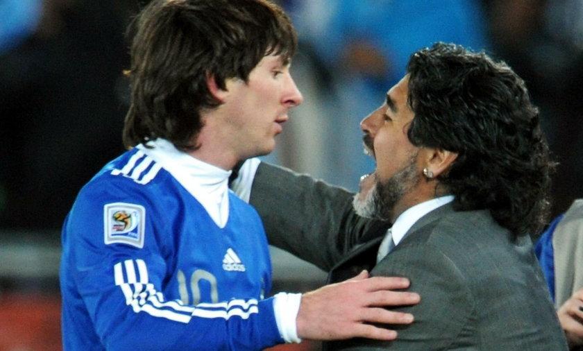 Messi i Ronaldo o Maradonie