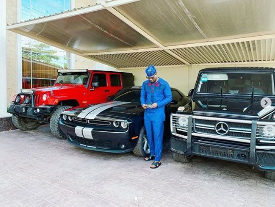 Take a look at Peter Okoye's amazing, exotic cars [Instagram/PeterPsquare]