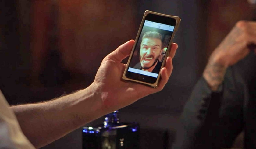Ohydne selfie Beckhama!