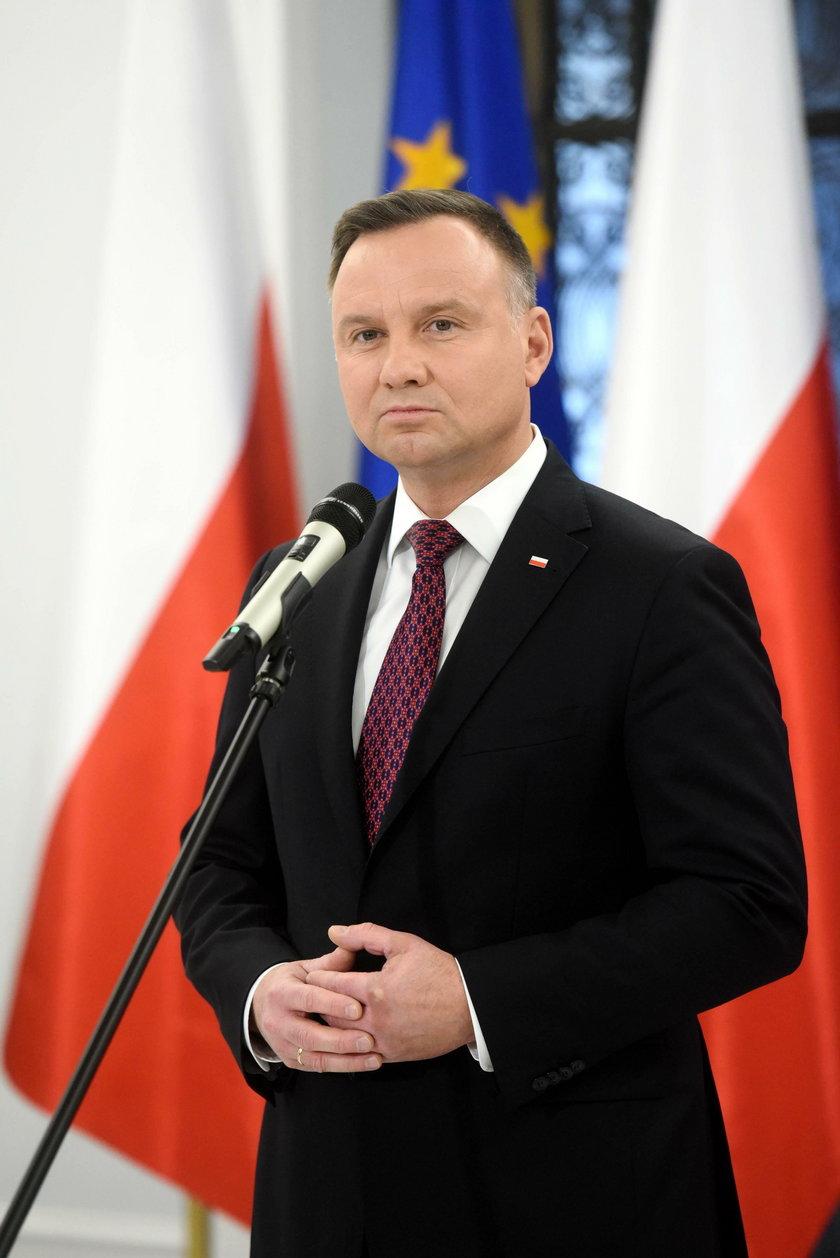 Andrzej Duda pogratulował Joe Bidenowi