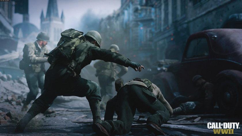 Call of Duty: WWII wciśnie was w fotel!!!