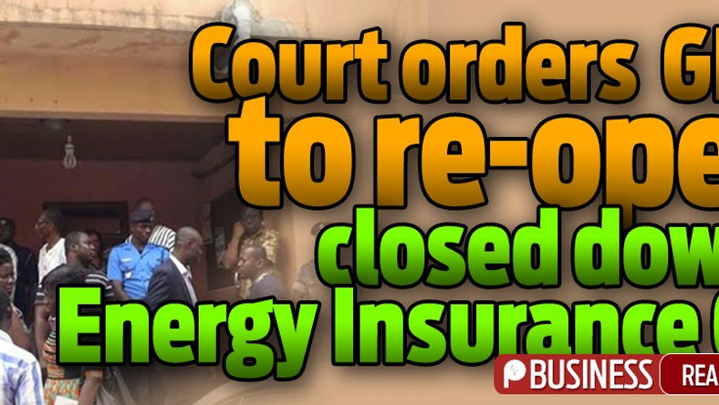 GRA misfires Court orders GRA to re-open closed down Energy
