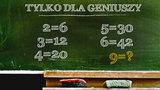 Geniusze rozwiązują tę zagadkę w kilka sekund. A Ty?