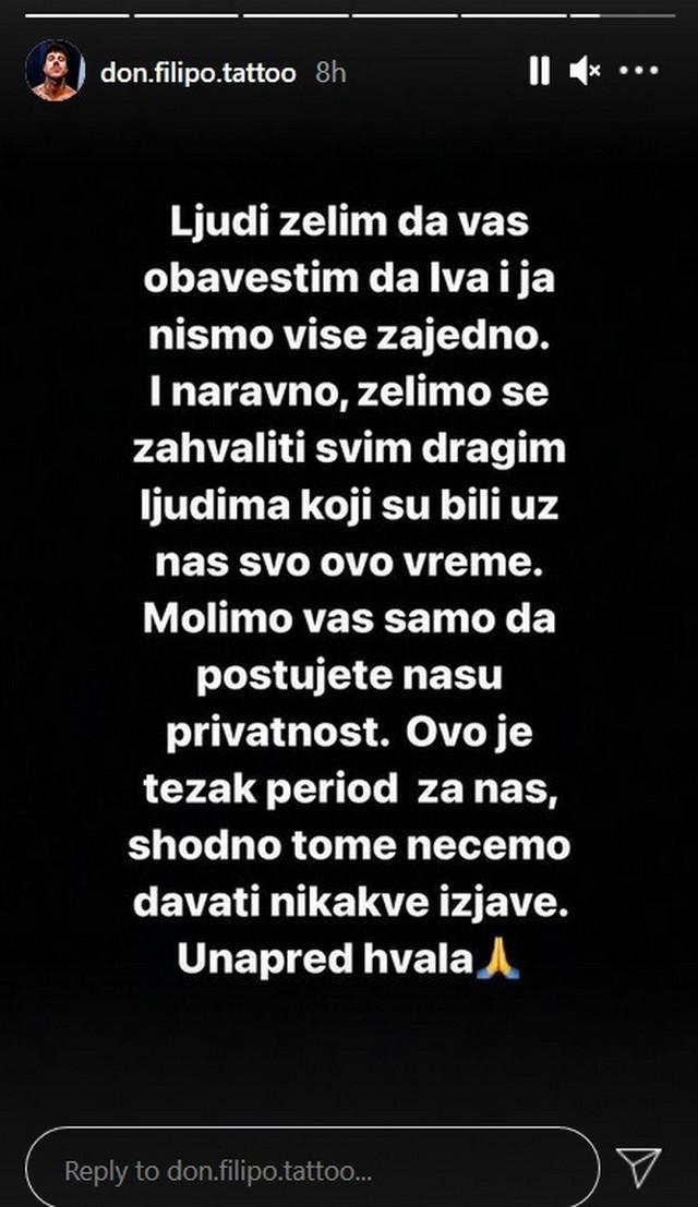 Filip Đukić - objava
