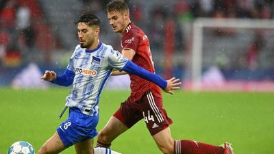 Serdar double lifts Hertha off bottom of Bundesliga