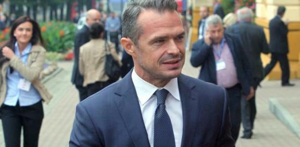 Sławomir Nowak na Forum Ekonomicznym w Krynicy. Fot. PAP/Grzegorz Momot