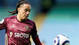 Injured - Leeds United's Helder Costa Creator: Tim Keeton