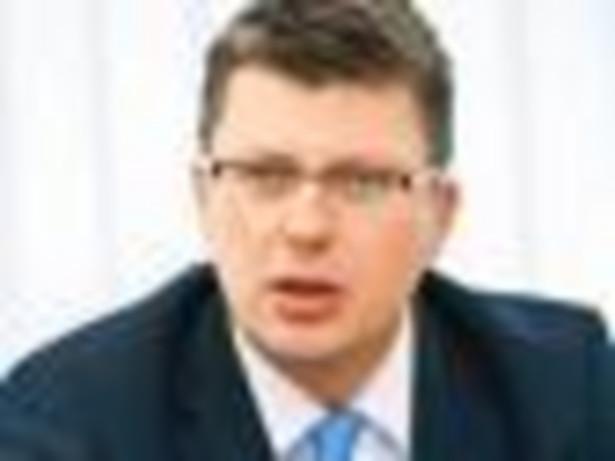 Marcin Warchoł, doktor habilitowany nauk prawnych, wiceminister sprawiedliwości