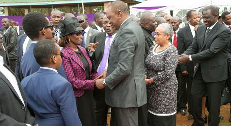 Why did DP William Ruto speed up former Nyeri Governor Wahome Gakuru's burial? Family questions