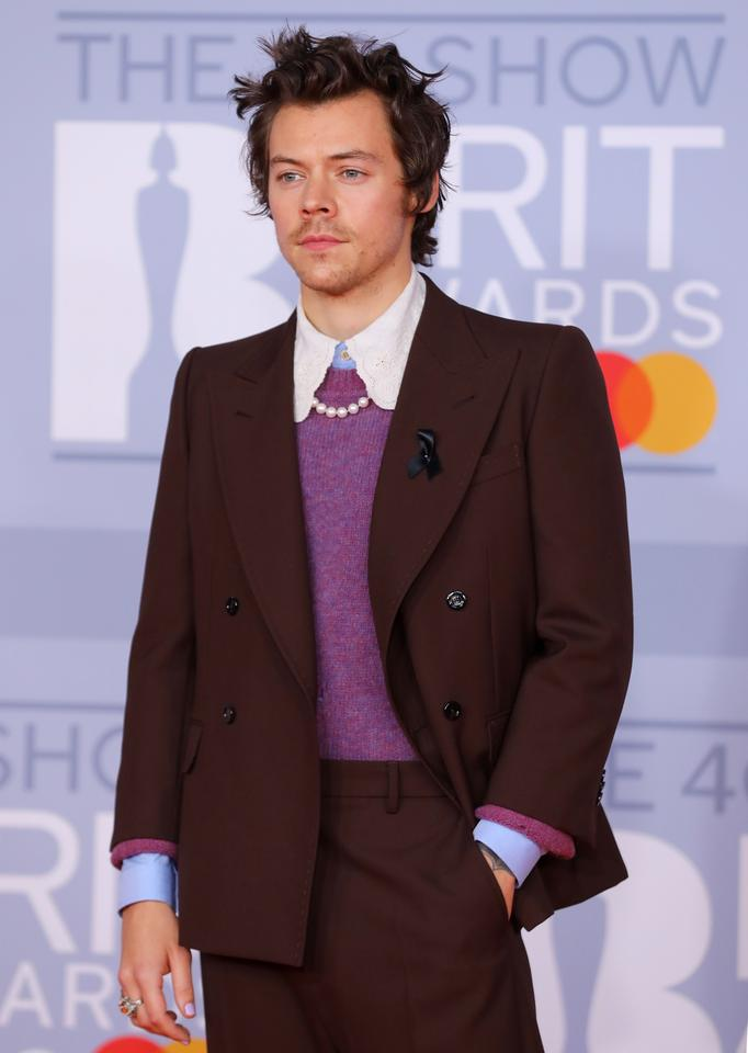 Brit Awards 2020: Harry Styles