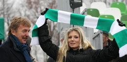 Zbigniew Boniek i piękna pani prezes