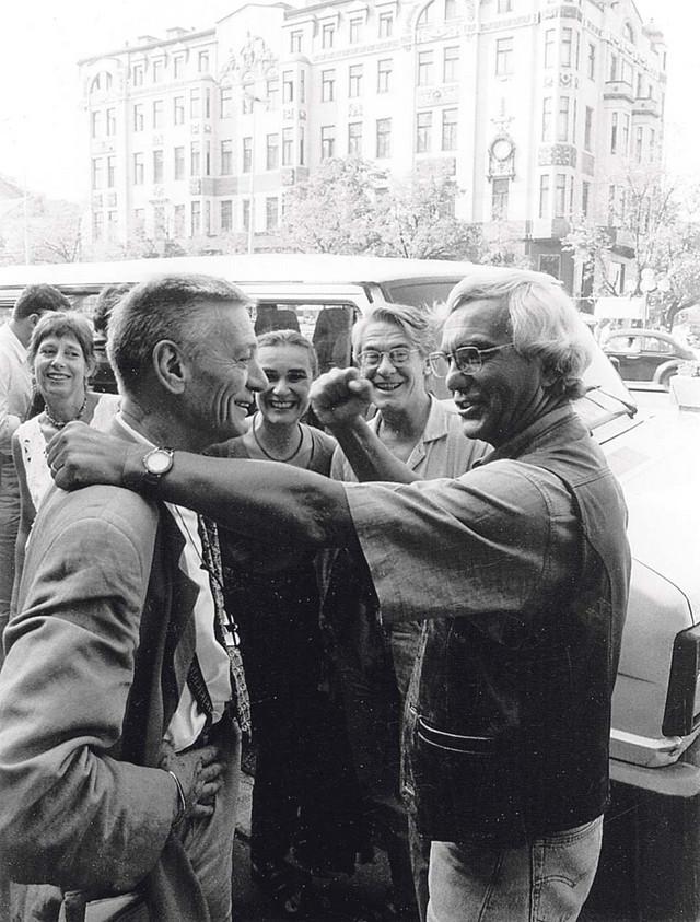 Jovan Ćirilov i Euđenio Barba