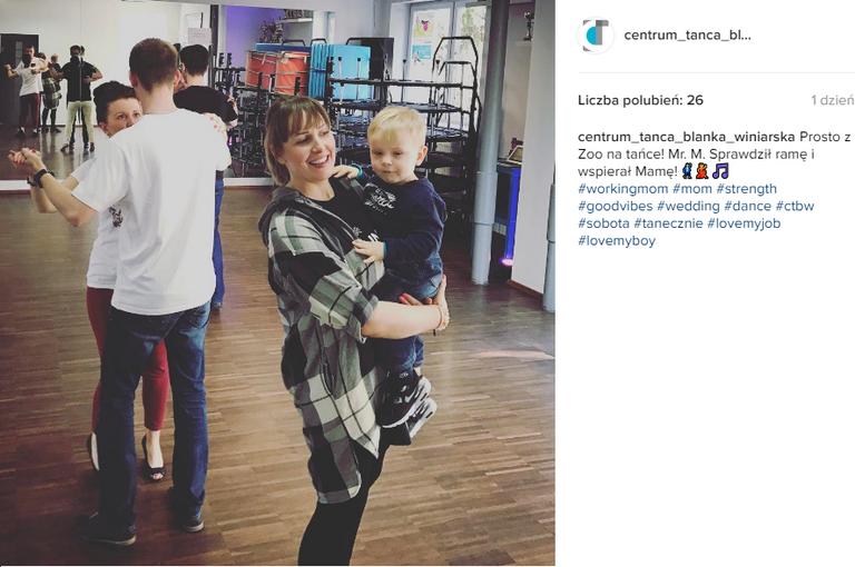 Blanka Winiarska na Instagramie