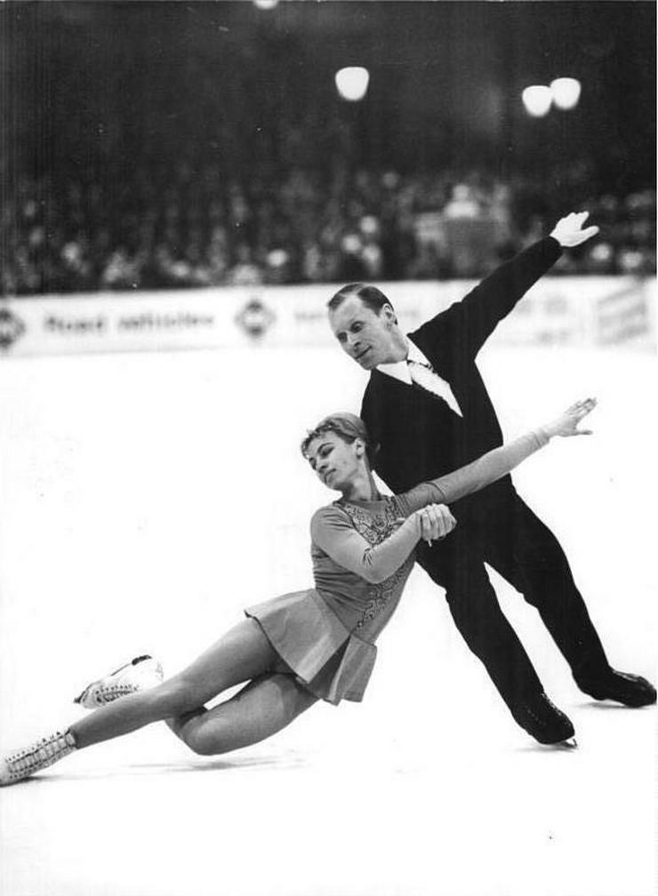 Ljudmila Belausova i Oleg Protapopav