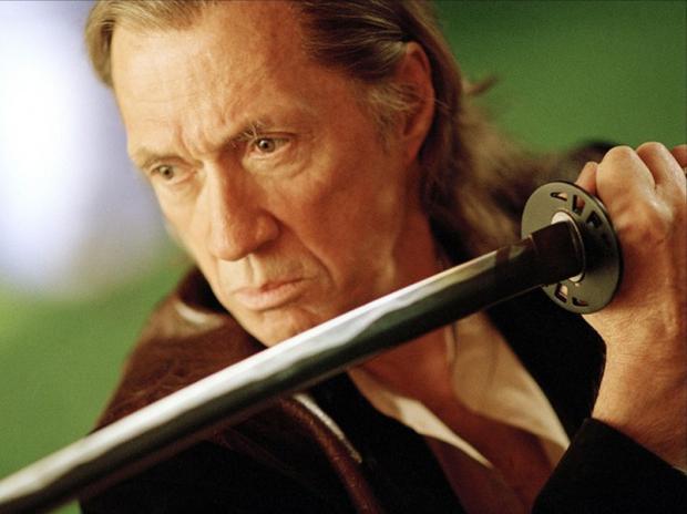 "David Carradine în ""Kill Bill"""