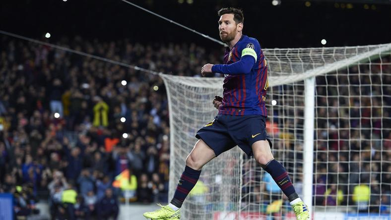 Lionel Messi greater than Cristiano Ronaldo