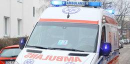 1,5-letnia dziewczynka wypadła z okna. Rodzice byli w domu