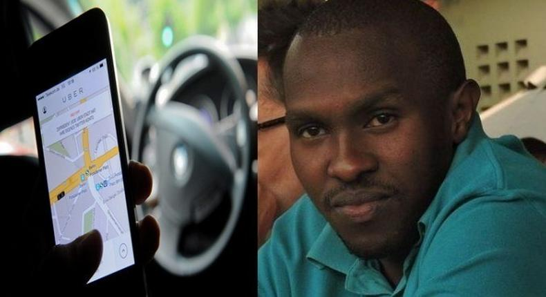 Charles Chanchori is the man behind the captivating Uber story.
