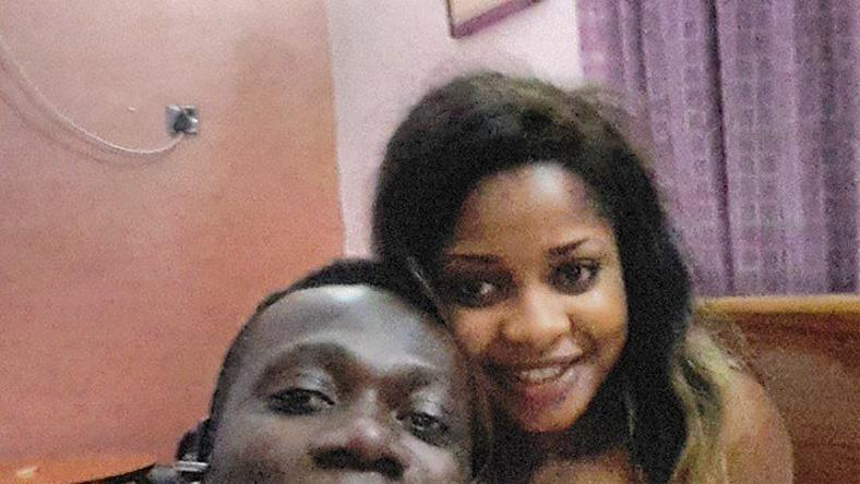 Duncan Mighty with fiancee