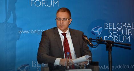 Ministar Stefanović na Bezbednosnom forumu
