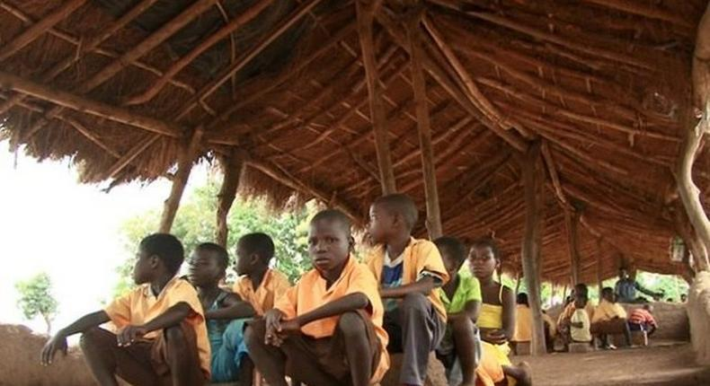 Binchap D/A School cries for classroom block and desks