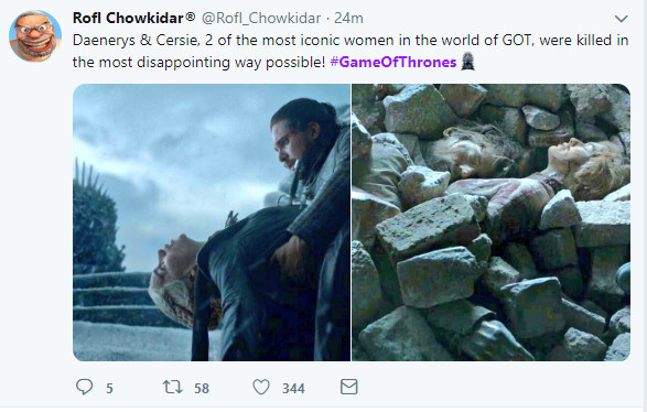 Game of Thrones (Twitter)