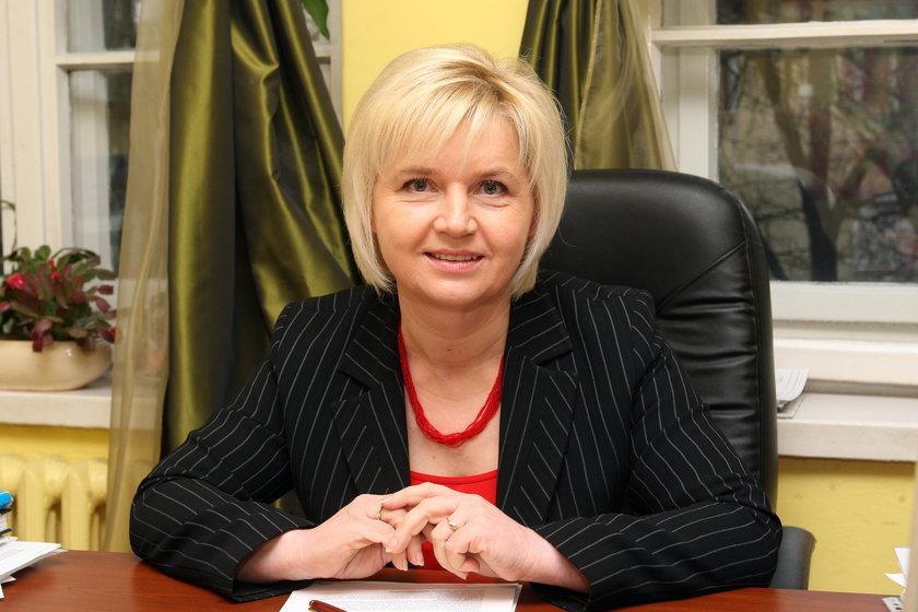 Posłanka Lidia Staron z Platformy Obywatelskiej