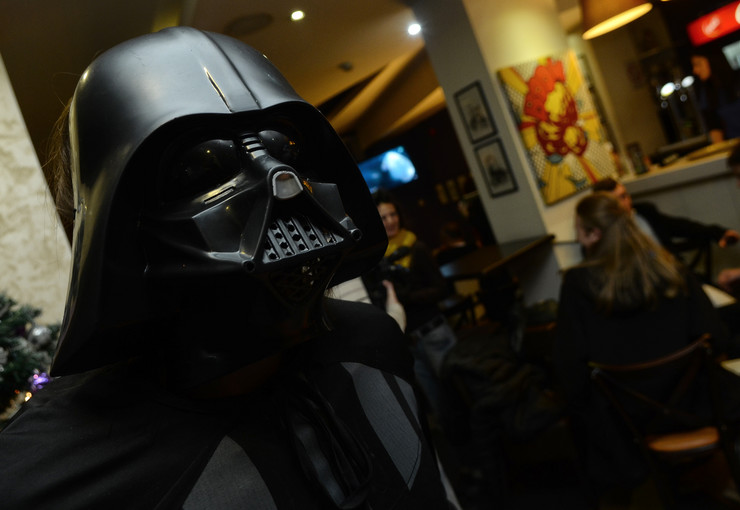Novi Sad13417 Novosadjani maskirani i kostime junaka iz filma ratovi zvezda foto Nenad Mihajlovic